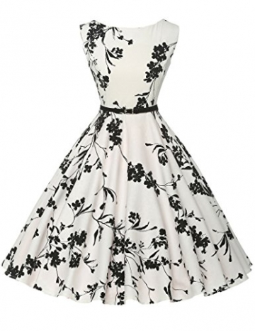 ツ 1950s vintage Retro festliches kleid audrey hepburn Sommerkleid ...