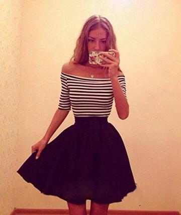 kleid damen kurz Knielang Chiffon Kleider Abendkleider Ballkleider - 2