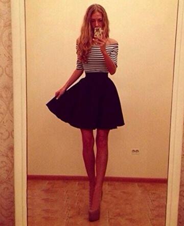 kleid damen kurz Knielang Chiffon Kleider Abendkleider Ballkleider - 3