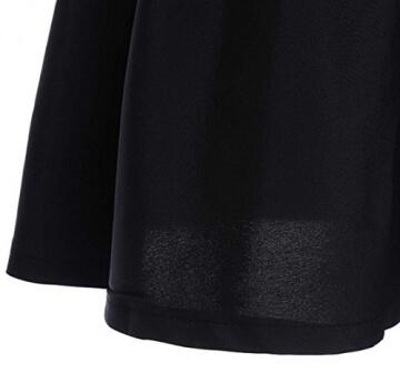 kleid damen kurz Knielang Chiffon Kleider Abendkleider Ballkleider - 5