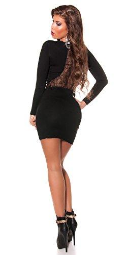 2x Sexy Strickkleid mit Strass und Perlen Koucla by In-Stylefashion SKU 0000511002 -