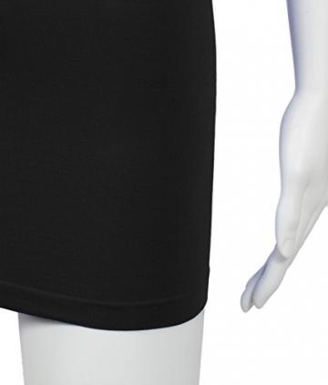 3/4 Arm Schlichtgeschnittenes Elastisches Figurbetontes Abendkleid Clubkleid Partykleid Cocktailkleid - 8
