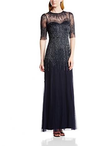 Adrianna Papell Damen Kleid,  Blau - Midnight Blue, Gr. 34 (Hersteellergröße: 8) - 1