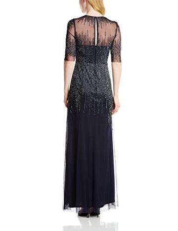 Adrianna Papell Damen Kleid,  Blau - Midnight Blue, Gr. 34 (Hersteellergröße: 8) - 2