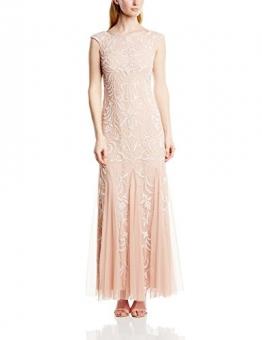 Adrianna Papell Damen Kleid, Rosa (Blush), 34 - 1
