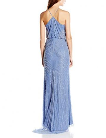 Adrianna Papell Damen Neckholder Kleid, Gr. 36, Blau (French Blue) - 2