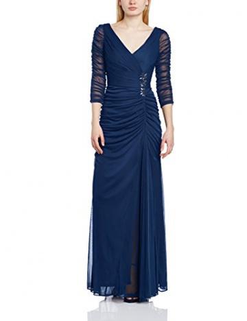 Adrianna Papell Damen Schlauch, Kleid, DRAP COVERED GN, GR. 42 (Herstellergröße: Size 16), Blau (Twilight) - 1