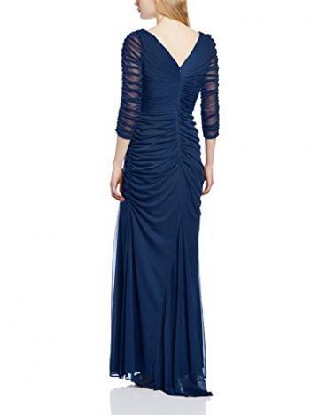 Adrianna Papell Damen Schlauch, Kleid, DRAP COVERED GN, GR. 42 (Herstellergröße: Size 16), Blau (Twilight) - 2