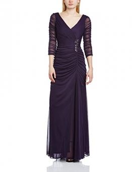 Adrianna Papell Damen Schlauch Kleid, Gr. 40, violett(Aubergine) - 1