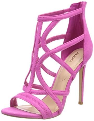 ALDO Damen Tifania Peeptoe Sandalen, Pink (Phlox Pink/53), 39 EU - 1