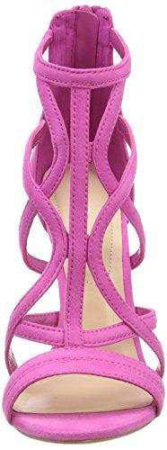 ALDO Damen Tifania Peeptoe Sandalen, Pink (Phlox Pink/53), 39 EU - 4