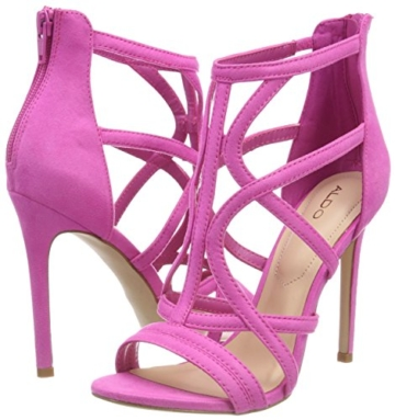 ALDO Damen Tifania Peeptoe Sandalen, Pink (Phlox Pink/53), 39 EU - 5