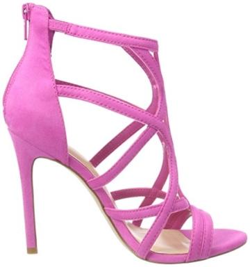 ALDO Damen Tifania Peeptoe Sandalen, Pink (Phlox Pink/53), 39 EU - 6