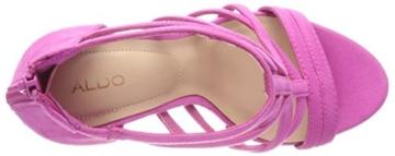 ALDO Damen Tifania Peeptoe Sandalen, Pink (Phlox Pink/53), 39 EU - 7