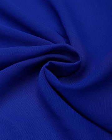 AmazingDays Damen Kleid Chiffon Kleider Lang Minikleid Elegant Ballkleider Abendkleider TüLl Partykleid Sommerkleid Casual (Blau, S) - 6