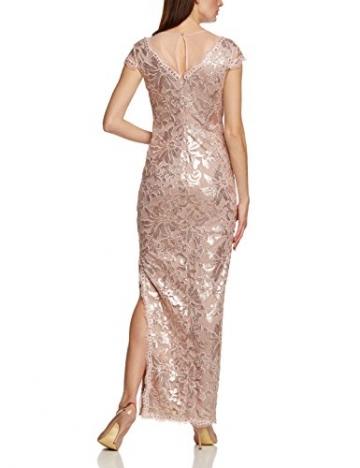 APART Fashion Damen Cocktail Kleid 46362, Maxi, Einfarbig, Gr. 44, Rosa (MAUVE) - 2