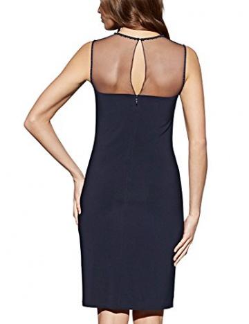 APART Fashion Damen Cocktail Kleid Jerseykleid, Knielang, Gr. 42, Schwarz (nachtblau) - 2