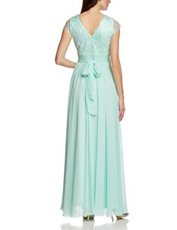 APART Fashion Damen Empire Kleid 45602, Maxi, Einfarbig, Gr. 42, Grün (MINT) - 2
