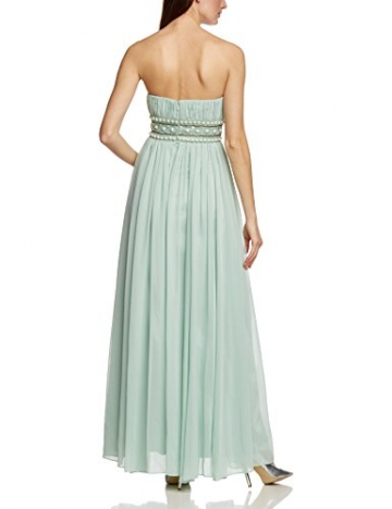 APART Fashion Damen Empire Kleid 49733, Maxi, Einfarbig, Gr. 36, Grün (JADE) - 2