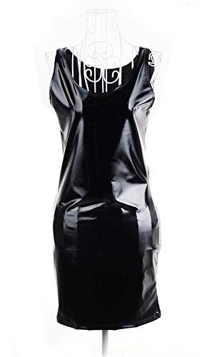 Ardisle Oops Outlet Damen mini-Kleid, sexy, figurbetontes Kleid Leder Kleid WET LOOK, PVC 8, 10, 12 -
