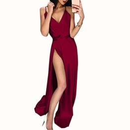 Ariymap Damen Sexy Drucken Sommer Kleid Ärmellos Quaste Cocktailkleider Partykleider Cocktailkleid - 1