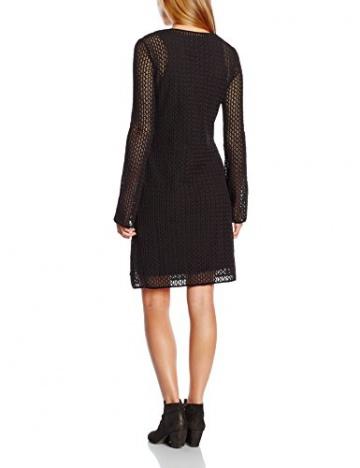 Armani Jeans Damen A-Linie Kleid B5A93LT, Mini, Gr. 34 (Herstellergröße: 40), Schwarz (NERO - BLACK 12) - 2