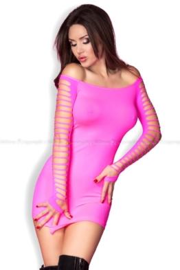 Aufregendes Nahtloses Stretch Minikleid