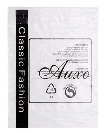 Auxo Damen V-Ausschnitt Karierte Kleider Langarm Mini Kurz Kleider Oversize Tops Hemd Rot & Schwarz EU 40/Etikettgröße L - 7