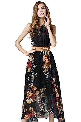 Blumen Schöne Saison Kleid Chiffon – Mit Kleider Dieser 0wPn8kO