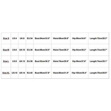 Battnot Damen Kleider Sexy Elegant Frauen Mode Sling Binden Hohl, Figurbetontes Midikleid Kurz Abend Party von der Schulter Festlich Prom Kleiding Womens Slim Fit Dress Schwarz Rot Rosa Gold XL - 6