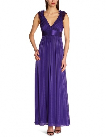 BCBGMAXAZRIA Damen Kleid LUB6N961, Violett (Btwisteria), 40 (Herstellergröße: 8) - 1