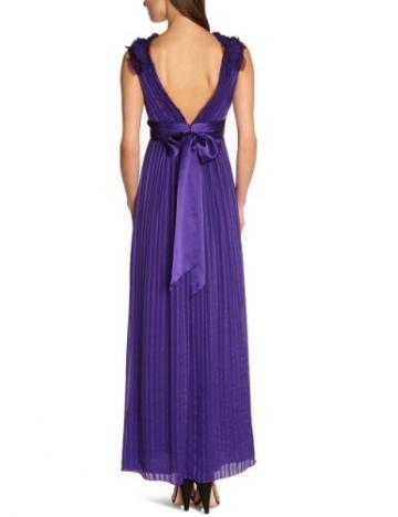 BCBGMAXAZRIA Damen Kleid LUB6N961, Violett (Btwisteria), 40 (Herstellergröße: 8) - 2