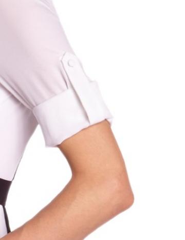 BCBGMAXAZRIA Damen Kleid WQR6V997 Chemise, Weiß (White Co.), 40 (Herstellergröße: L) - 3
