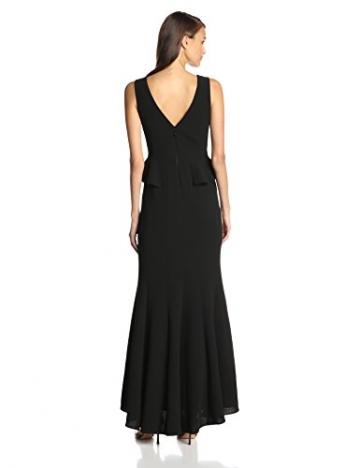 BCBGMAXAZRIA Damen Schößchen Kleid, Uni Gr. 38, schwarz - 2
