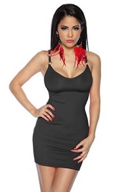 Beautys Love - Mini-Kleid - schwarz - 2XL -