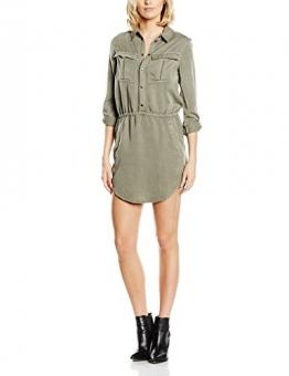 Blend Damen Blusen Kleid 20200063, Mini, Gr. 38 (Herstellergröße: M), Grün (Deep Lichen Green 20119) -
