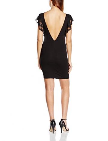 Blend Damen Schlauch Kleid Frilly dress CA1, Mini, Gr. 36 (Herstellergröße: S), Schwarz (20100 Black) - 2