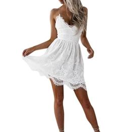 best service aa8f6 68609 Weißes Kleid mit Spitze Übersicht ⋆ Sexy-Kleider.com