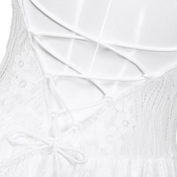 Btruely Kleid Damen Elegant Minikleid Ärmellos Abendkleid Bodycon Sommerkleid Partykleid Bleistift Kleid Boho Cocktailkleid - 5