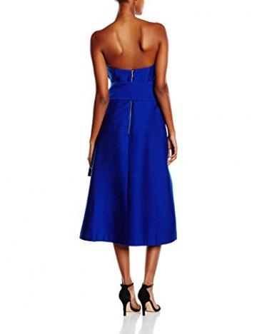 Cameo Damen, A-Linie, Kleid, Wake Me, GR. 34 (Herstellergröße:Small), Blau (cobalt) - 2