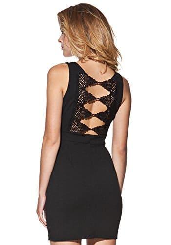 Candy Dresses - Minikleid mit besticktem Rücken -