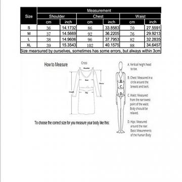 Clorislove Damen Sommerkleid Strandkleid Rundhals Ausschnitt ärmellos Spitze Stitching eng Taille Rock Frauen Partykleid (Medium, Weiß) -