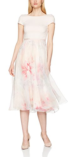Coast Damen Blouson Kleid Surana Abi Midi, mehrfarbig, Gr. 32 (Herstellergröße: 6) - 1