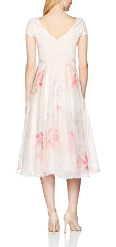 Coast Damen Blouson Kleid Surana Abi Midi, mehrfarbig, Gr. 32 (Herstellergröße: 6) - 2