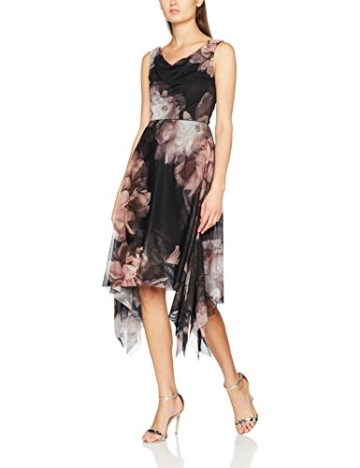 Coast Damen Kleid Arles, Multicoloured (Multi), 40 - 1