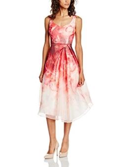 Coast Damen Kleid Jaslyn Udapuir Midi, Mehrfarbig, Gr. 32 (Herstellergröße: 6) - 1