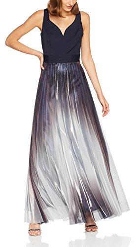 Coast Damen Kleid Roma Maxi, Multicoloured (Multi), 36 (Herstellergröße: 10) - 1