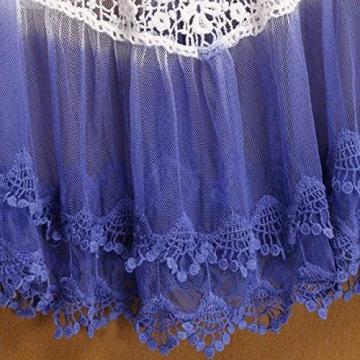 CRAVOG Frauen V-Ausschnitt, langen Ärmeln Badebekleidungs Strand Minikleid -