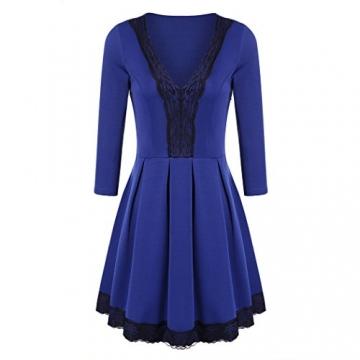 CRAVOG Sexy Damen Abendkleider Festkleid kurze Minikleider Damen Kleid elegant - 1