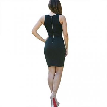 CRAVOG Sexy Damen Ballkleider Kleid für Party Damen Minikleider Abendklei - 4